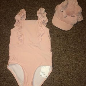Bathing suit and Hat